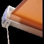 Cream Luxury 6ft Door Window Awning Drop Arm Door Shelter Sun Shade Canopy _3