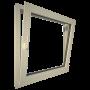 Eurowindows Group 36-in x 36-in Tilt and Turn Series 1-Lite Vinyl Double Pane Replacement Casement Window_1