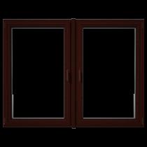 Eurowindows Group 72-12-in x 60-in Tilt and Turn Series 2-Lite Vinyl Triple Pane Replacement Casement Window_1