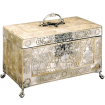 CARVED MOTHER-OF-PEARL TEA CADDY 1
