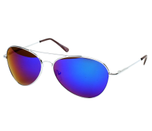 FRAMEWORK - Classic Color Full Mirrored Aviator Sunglasses_01