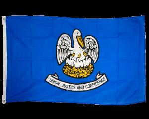 Louisiana 3ft x 5ft Nylon Flag 1