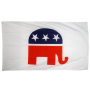 USA Republicans 3ft x 5ft Nylon Flag 1