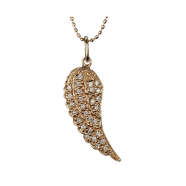 Small Wing Necklace 1 copy