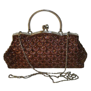 An Exquisite Beaded Evening Bag, Vintage-inspired Cluth 1