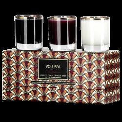 Voluspa - Delphine Art Deco Three Votive Candle Gift Set 1