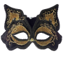 Black Feline Fancy Mask 1