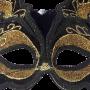 Black Feline Fancy Mask 3