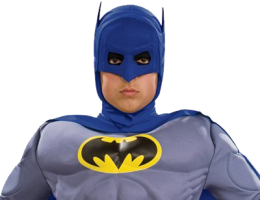 Child Deluxe Muscle Chest Batman Costume 3