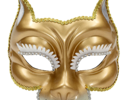 Gold Venetian Mask 1