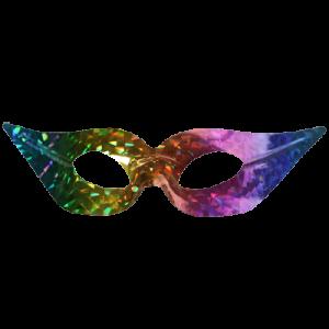 Rainbow Venetian Mask 1