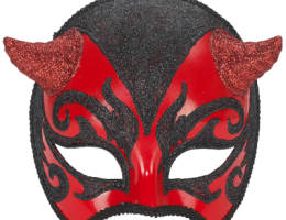 Venetian Mask With Horns 1