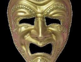 White Tragedy Mask 1