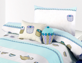 little home at John Lewis Cupcakes Duvet Cover Set 2