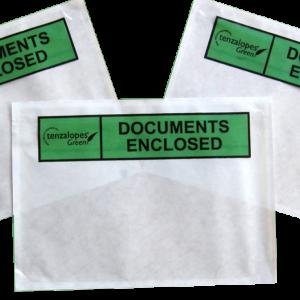Documents Enclosed Envelopes green_2