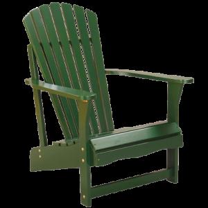 Adirondack Chair in Hunter Green 1