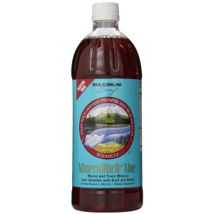Maximum Living MineralRich Plus Aloe 32 fluid ounces 1