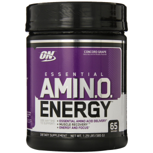 Optimum Nutrition Amino Energy 65 Servings Concord Grape 585 Grams 1