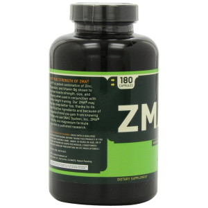 Optimum Nutrition ZMA 180 Capsules 5
