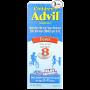 Children's Advil Ibuprofen Fever Reducer Pain Reliever Oral Suspension, Fruit Flavor _1_2