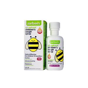 ZarBee's All-Natural Children's Nightime Cough Syrup, Grape_1