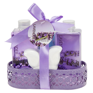 Lavender Bath and Body Gift Basket_1