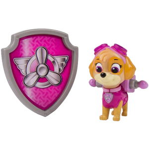 Nickelodeon Paw Patrol - Action Pack Pup & Badge - Skye 3