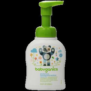 Babyganics Alcohol-Free Foaming Hand Sanitizer Fragrance Free 8.45oz Pump Bottle 1