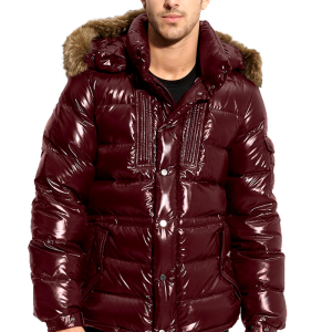 Moncler 'Rod' Quilted Down Parka with Genuine Coyote Fur Trim 1 copy