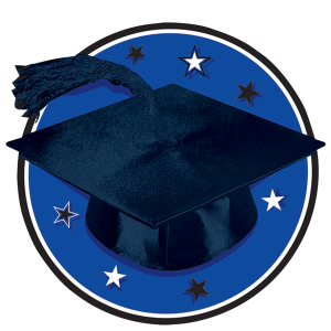 Congrats Grad Blue Graduation Cutouts 1 copy