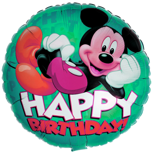 Mickey Happy Birthday 18'' Foil Balloon 2 copy