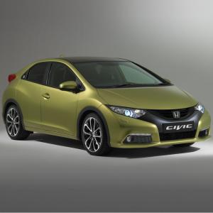 2013 Honda Civic hatchback 1