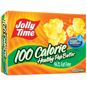 Jolly Time 100 Calorie Healthy Pop Butter Microwave Popcorn Mini Bags 1
