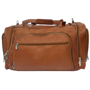 Piel Leather Multi-Compartment Duffel Bag_1