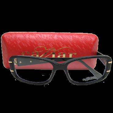 Caviar 3802 Eyeglasses color C 24 Black
