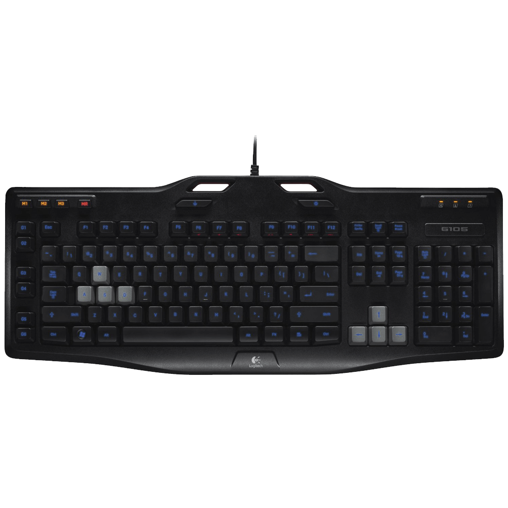 Logitech G105 Gaming Keyboard with Backlighting 1