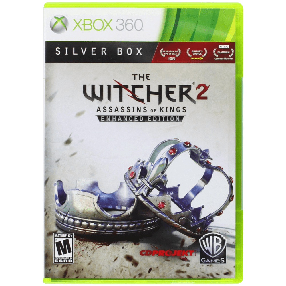 The Witcher 2- Assassins Of Kings - Silver Edition - Xbox 360 1