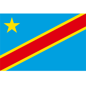 Congo 3ft x 5ft Nylon Flag 2