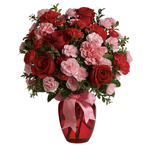 Dance with Me Bouquet with Red Roses 2