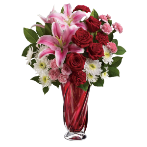 Teleflora's Swirling Beauty Bouquet 3