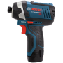 Bosch CLPK27-120 12-Volt Max Lithium-Ion 2-Tool Combo Kit (Drill Driver and Impact Driver) with 2 Batteries Charger and Case 2