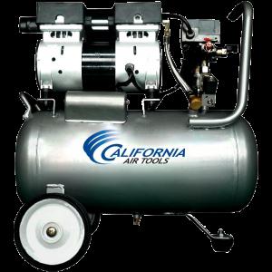 California Air Tools CAT-6310 Ultra Quiet and Oil-Free 1.0 Hp 6.3-Gallon Steel Tank Air Compressor 1