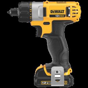 DEWALT DCK210S2 12-Volt Max Screwdriver-Impact Driver Combo Kit 3