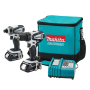 Makita LCT200W 18-Volt Compact Lithium-Ion Cordless Combo Kit 2-Piece 1