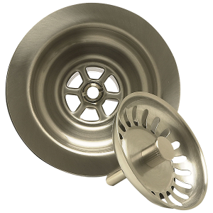 Mountain Plumbing Kitchen Sink Strainer with Spring Loaded Center Post_1