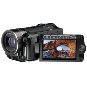 Canon VIXIA HF10 Flash Memory High Definition Camcorder with 16 GB Internal Flash Memory and 12x Optical Image Stabilized Zoom_01