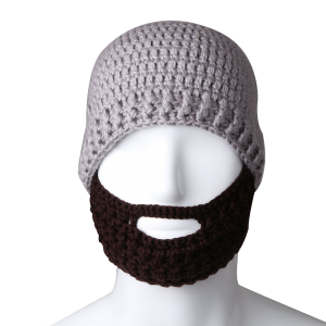 Free Fisher Unisex Knit Beanie Stubble Beard 1