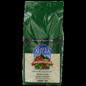 Cafe Altura Organic Coffee Peruvian Dark Whole Bean 32-Ounce Bag 1
