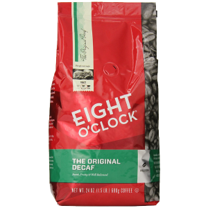 Eight O'Clock The Original Decaf Whole Bean Coffee 24 Ounce 1