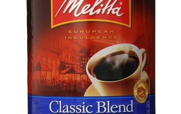 Melitta Coffee Classic Blend Ground Medium Roast